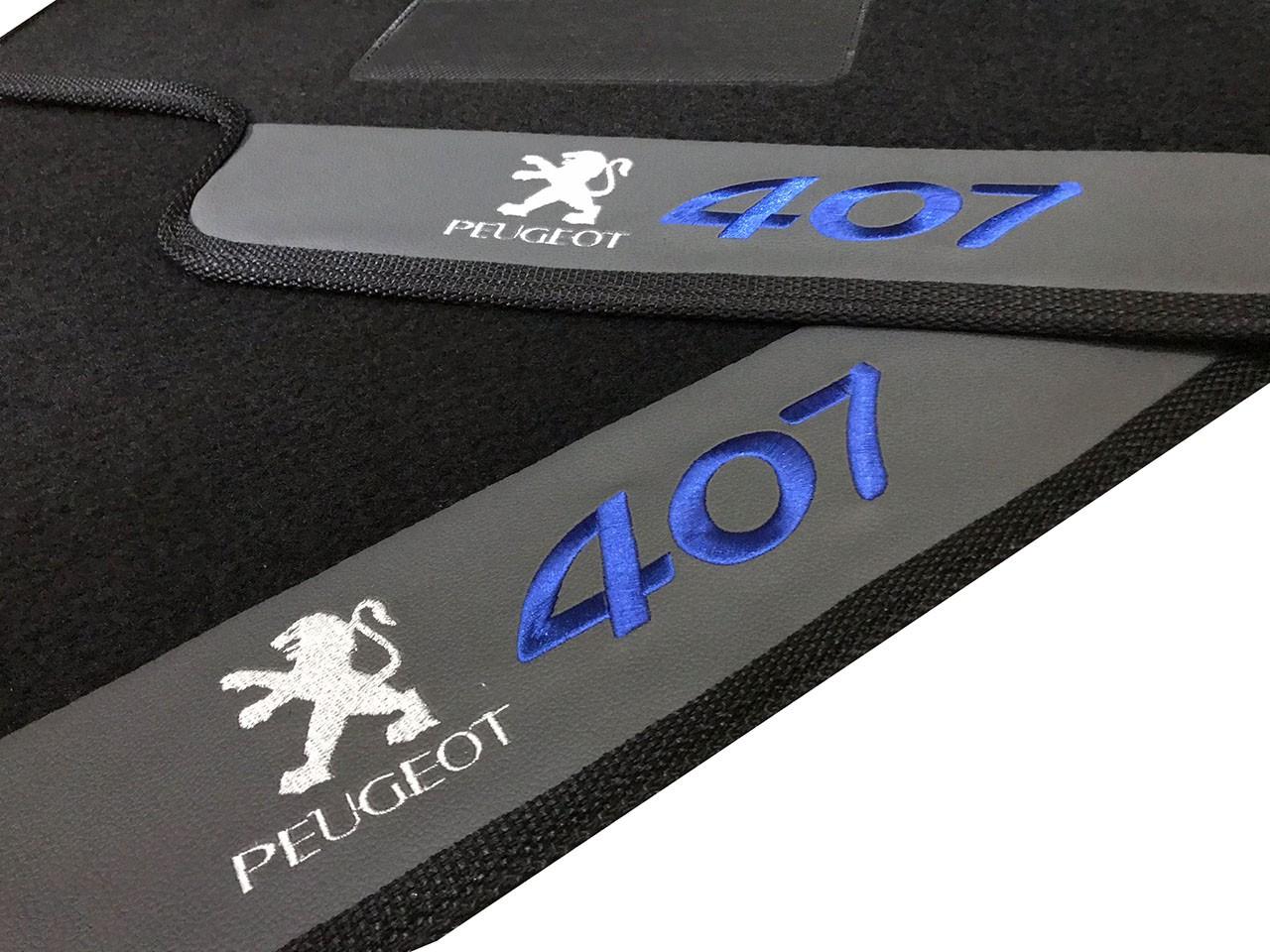 Tapete Peugeot 407 Carpete Premium Base Pinada