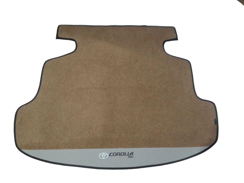 Tapete Porta Malas Corolla Carpete Luxo Base Pinada Hitto