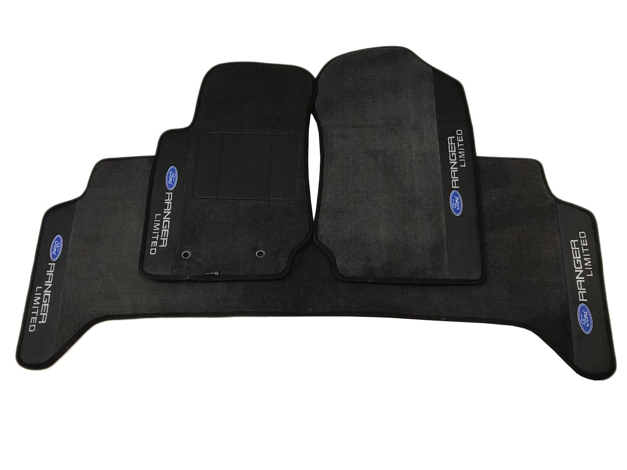 Tapete Ranger Carpete Premium  Base Pinada