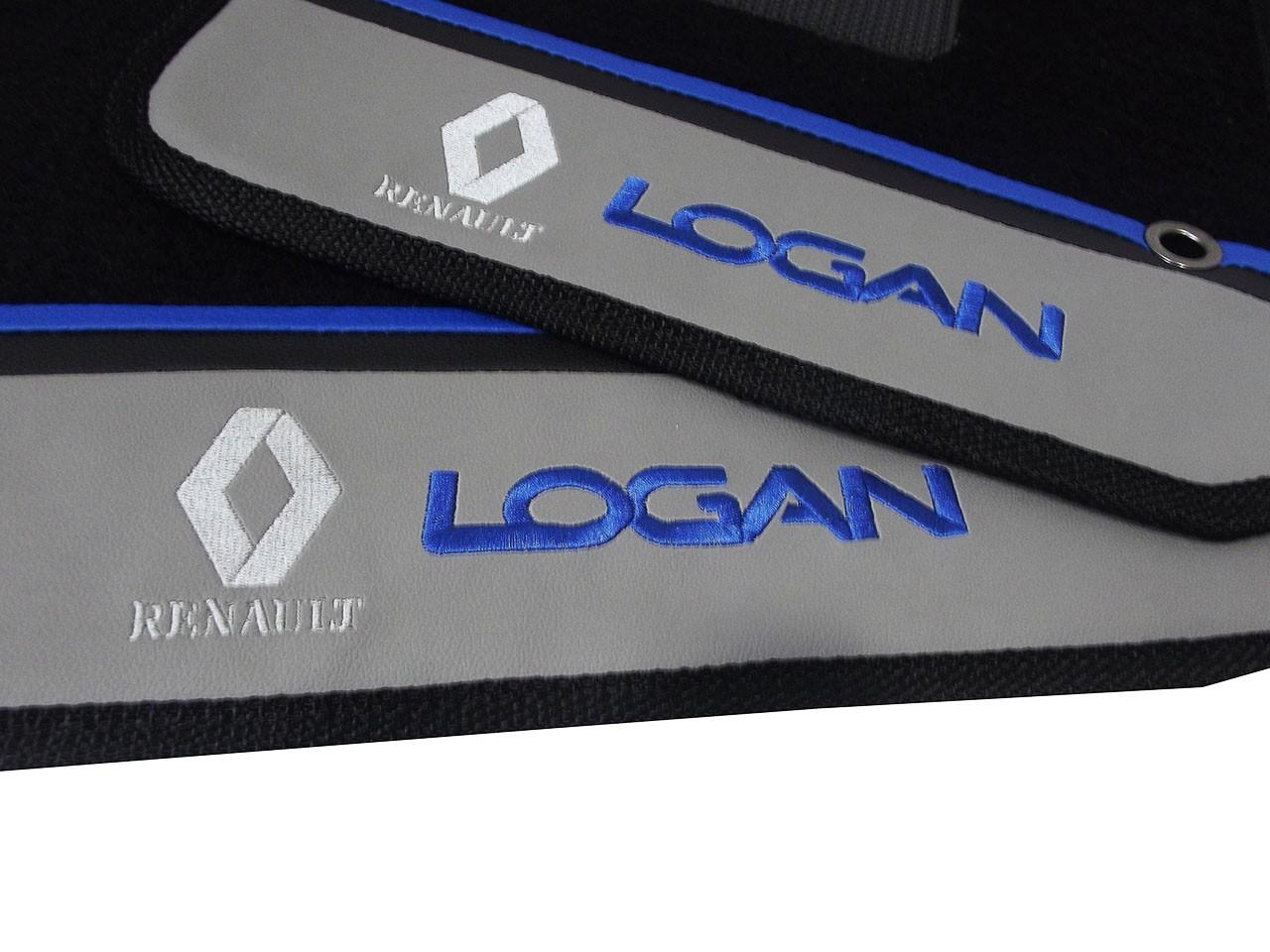 Tapete Renault Logan Carpete Luxo Base Pinada