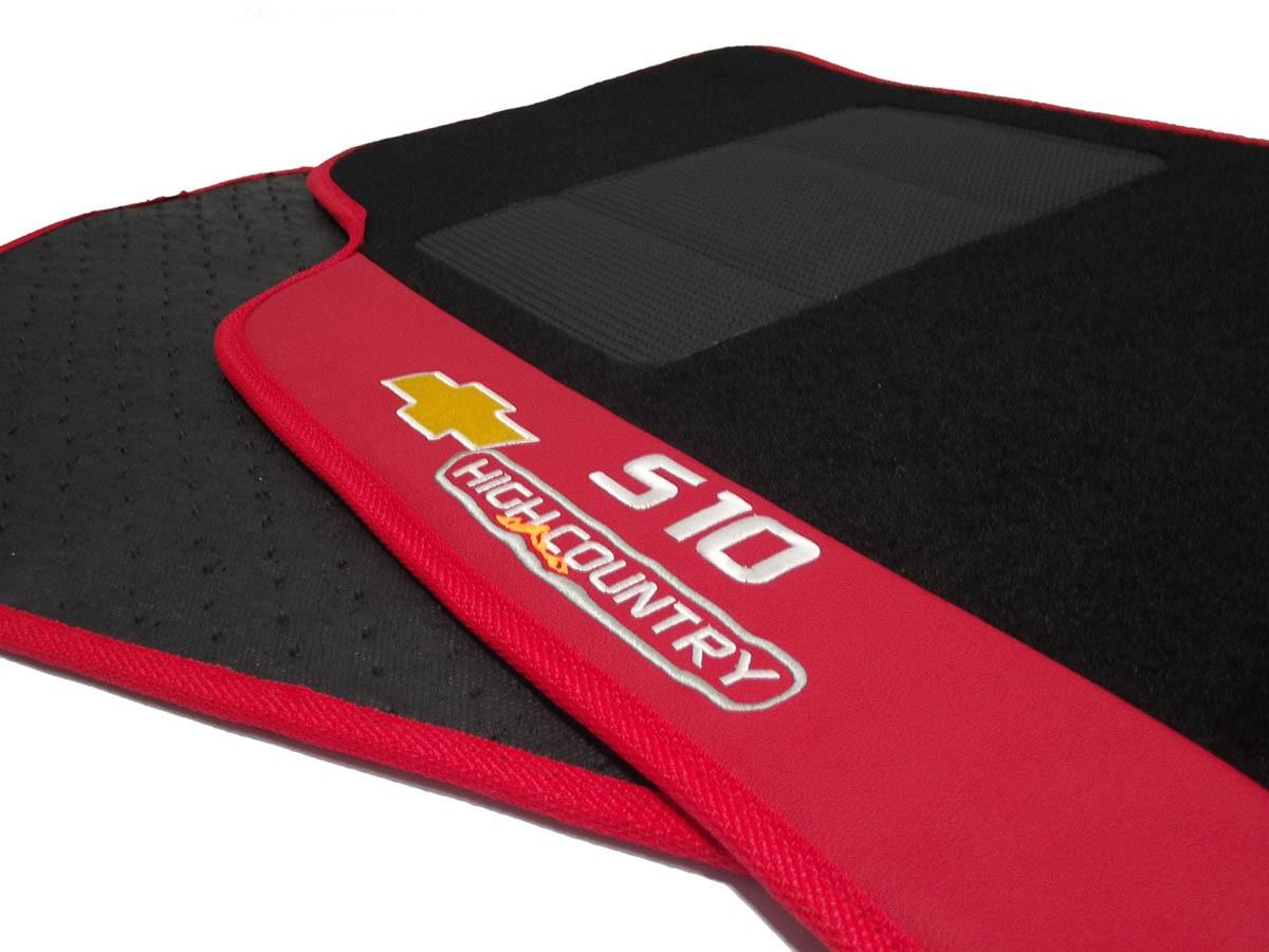Tapete S10 Carpete Luxo Base Pinada Hitto O Melhor