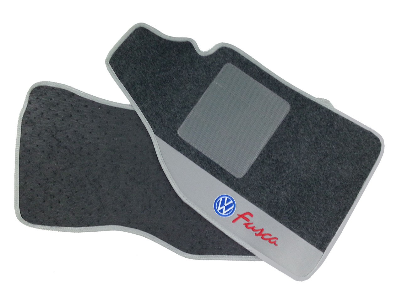 Tapete Vw Fusca Novo Carpete Premium  Base Pinada