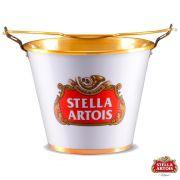 Balde Alumínio para Gelo 5 Litros de Capacidade - Stella Artois