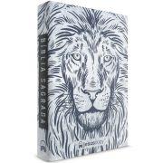 Bíblia JesusCopy NVT - Capa Dura Leão Branco