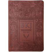 Bíblia King James Fiel 1611 - Letra Ultra Gigante - Marrom