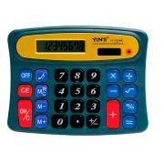 Calculadora de Mesa - Eletrônica - Funciona a pilha - 8 Dígitos - Yin´s