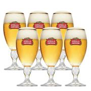 Conjunto de 6 Taças Stella Artois 250ml
