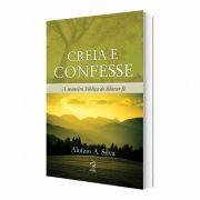 Livro Creia e Confesse Aluízio Silva