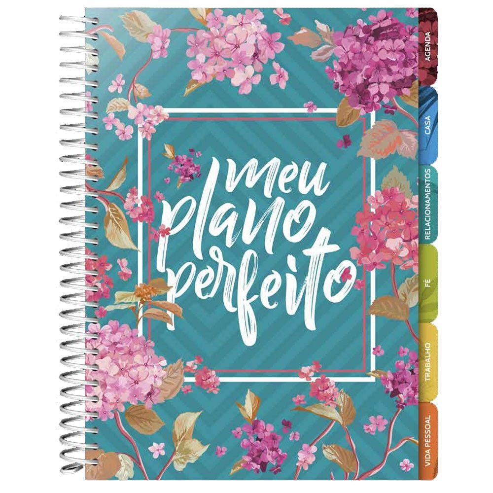 Agenda Planner - Meu Plano Perfeito - Capa Flores