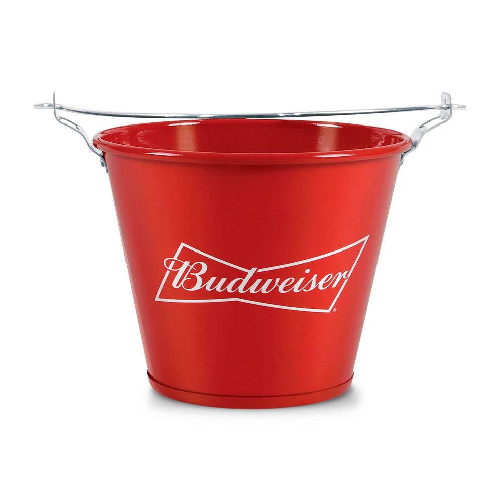 Balde de Alumínio para Gelo e Garrafas - Budweiser
