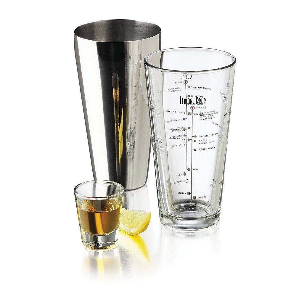 Bar Mix Jogo Bartender 3 peças para preparação de Drinks Bar - Libbey
