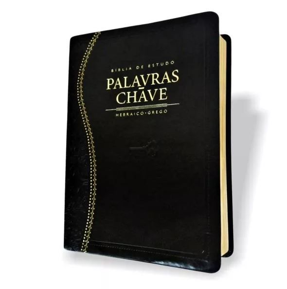 Bíblia de Estudo Palavras-Chave- Capa Preta - Hebraico e Grego