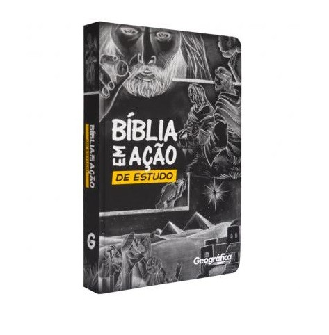 Bíblia em Ação de Estudo (Capa Especial Preta)