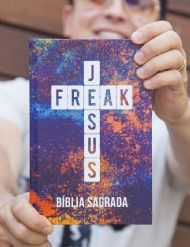 Bíblia Jesus Freak Capa  Colors