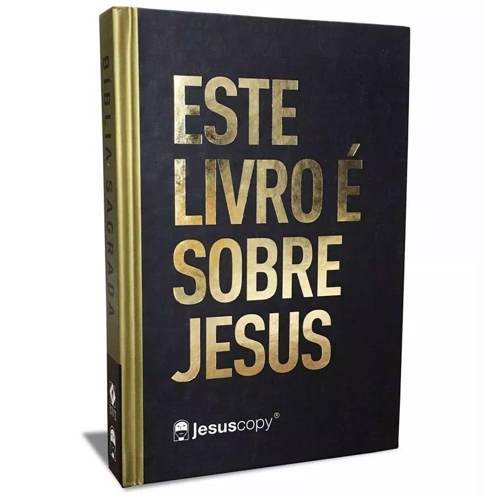 Bíblia JesusCopy NVT - Este Livro Sobre Jesus
