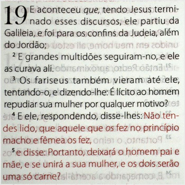 Bíblia King James Fiel 1611 - Luxo Preta - Palavra de Jesus em letra vermelhas