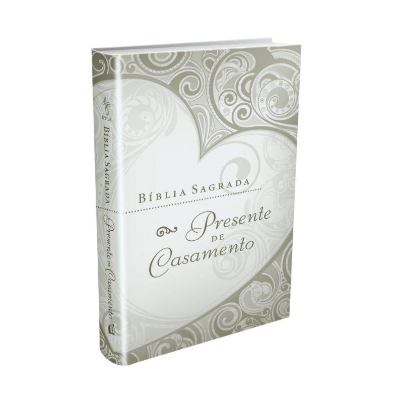 Bíblia Presente de Casamento - Luxo Branca - Editora Thomas Nelson