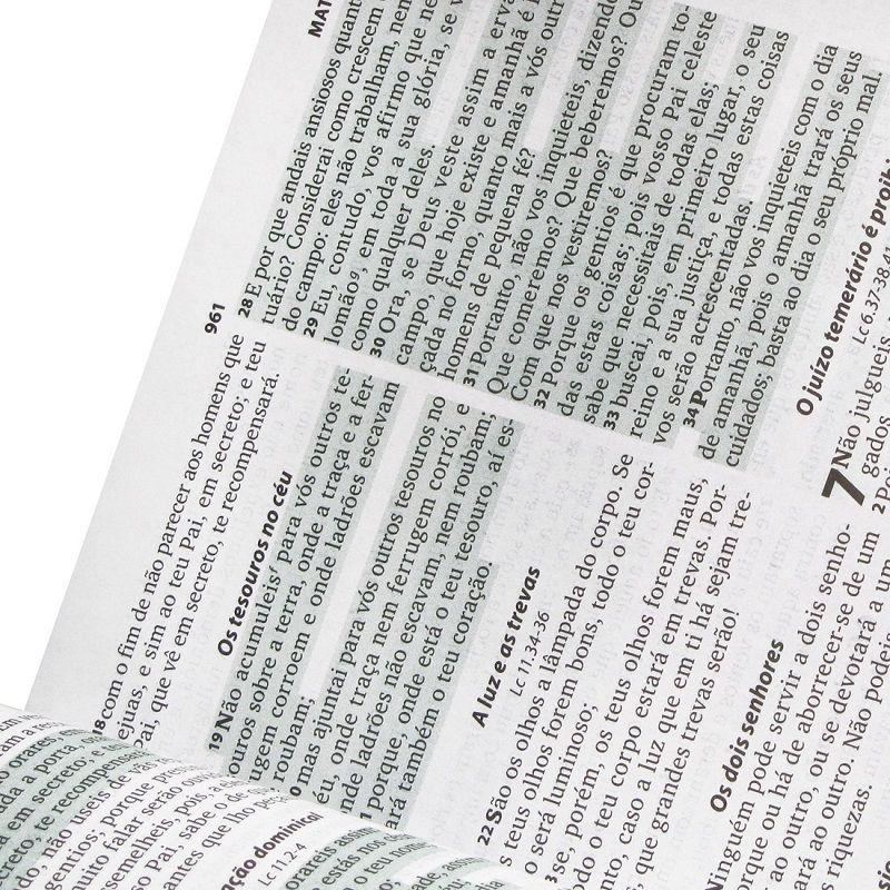 Bíblia Sagrada Letra Maior com Fonte de Bênçãos