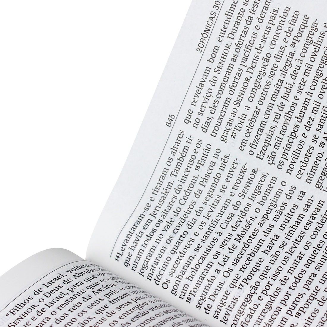 Bíblia Sagrada - NA Capa Luxo Marrom - Letra Gigante