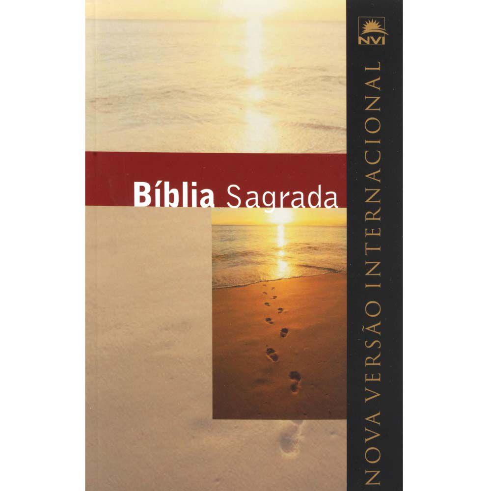 Bíblia Sagrada - Nova Versão Internacional - Capa Dura - Editora Geográfica
