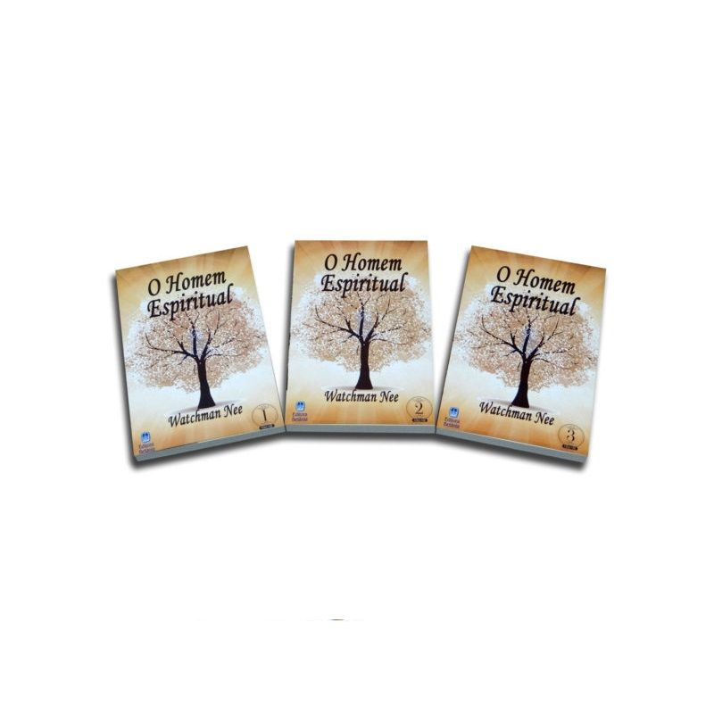 Box - O Homem Espiritual - Watchman Nee - 3 Volumes