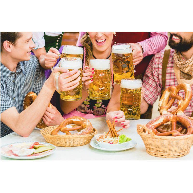 Caneca de Chopp 1000ml - Mass Krug - Oficial Oktoberfest