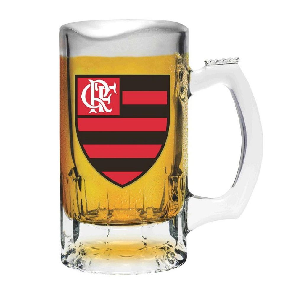 Caneca de Chopp Flamengo 375ml - Libbey Trigger