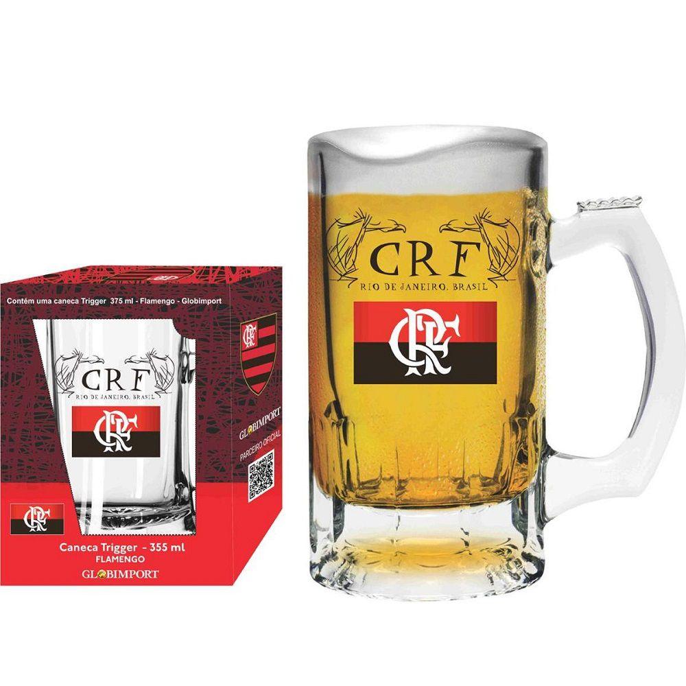 Caneca de Chopp Flamengo CRF 375ml - Libbey Trigger