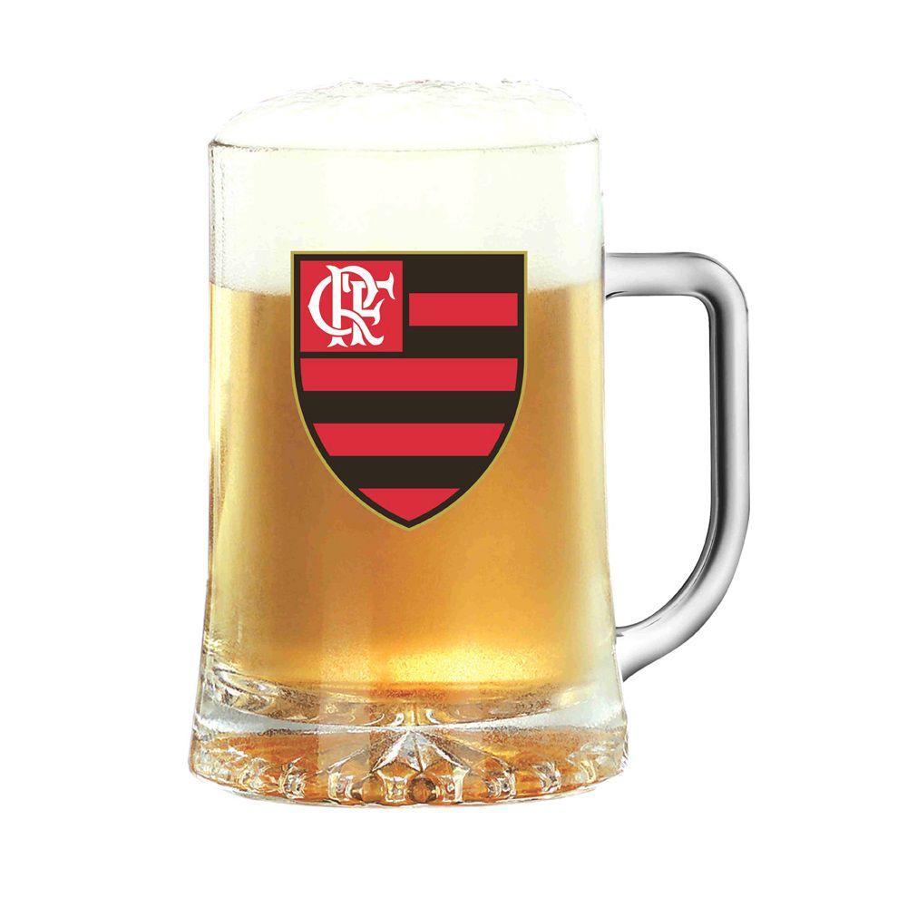 Caneca de Chopp Maxim 500ml - Brasão do Flamengo - Libbey