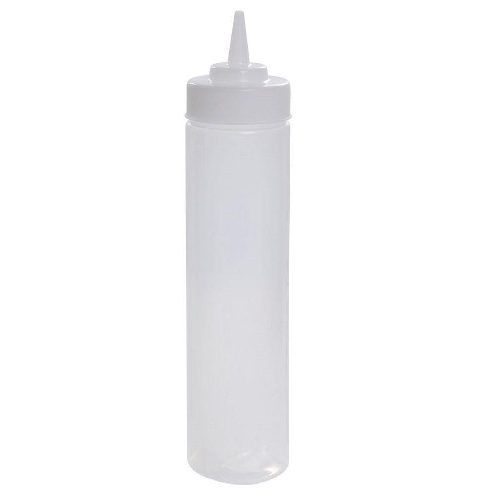 Conjunto de 10 unidades de Bisnaga para molhos com bico de precisão 900ml