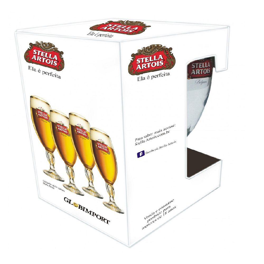 Conjunto de 4  Taças Stella Artois 250ml
