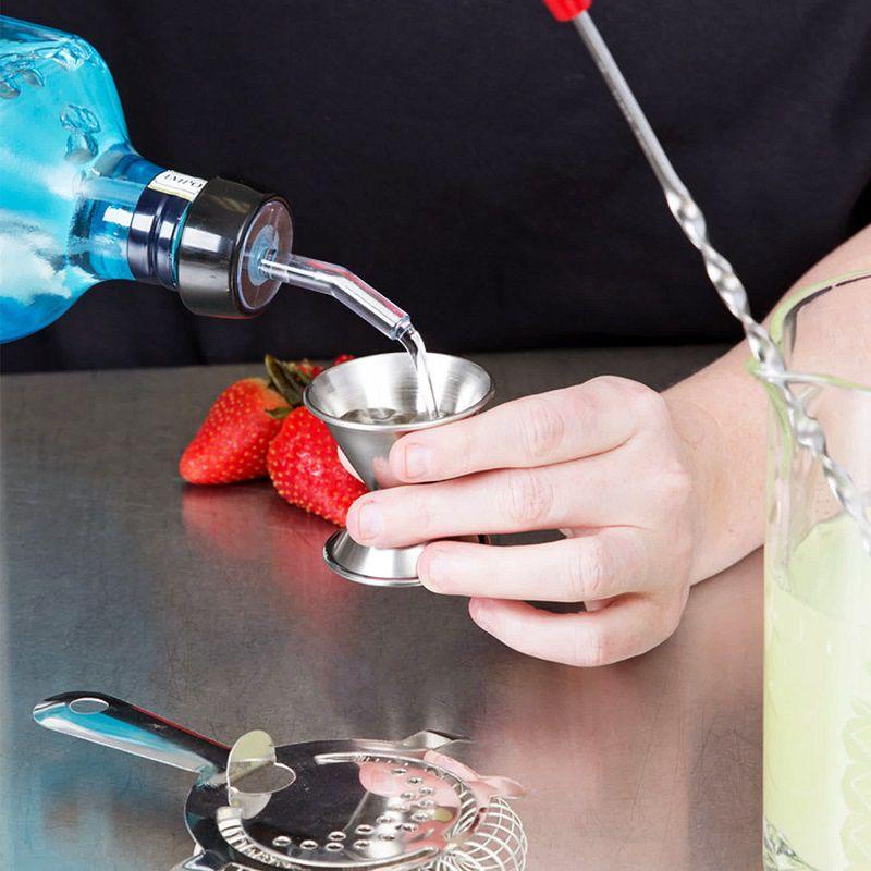 Dosador Duplo de Bebidas Inox 15ml x 30ml - Jigger
