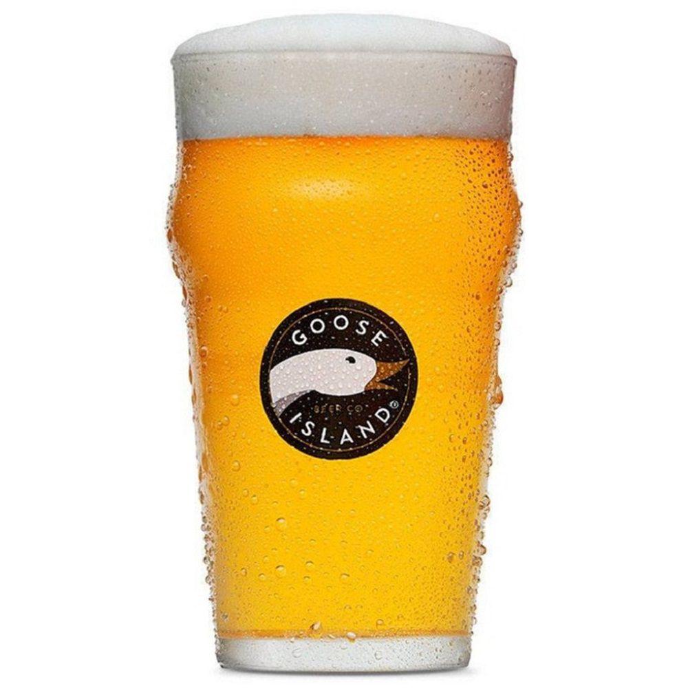 Copo de Cerveja Pint 400ml Vidro Goose Island
