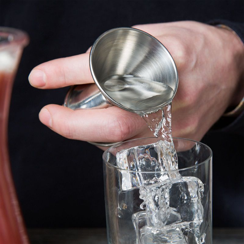 Dosador Duplo de Bebidas Inox 30ml x 45ml - Jigger