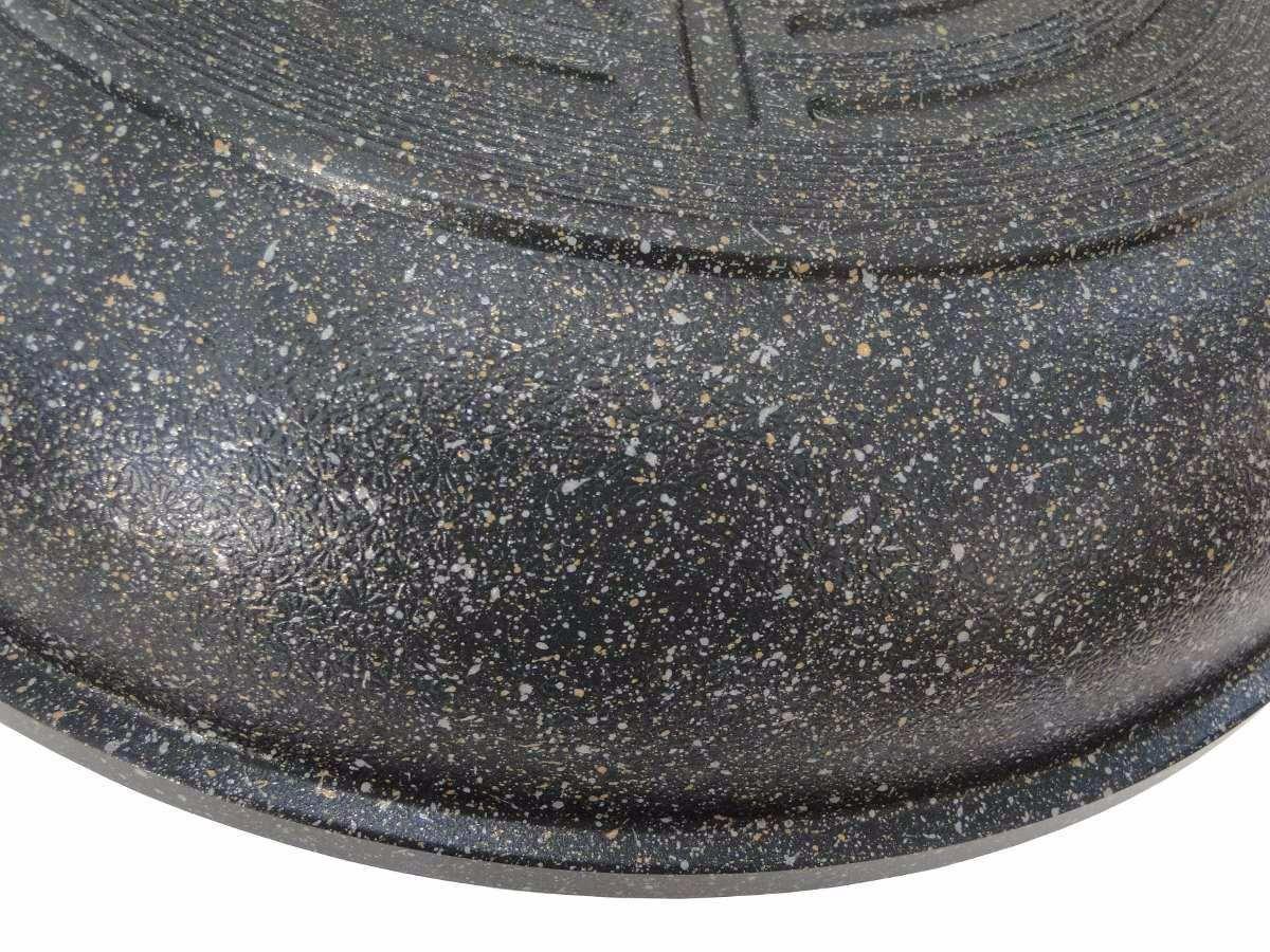 Frigideira Grande Antiaderente com Revestimento de Mármore 26 cm