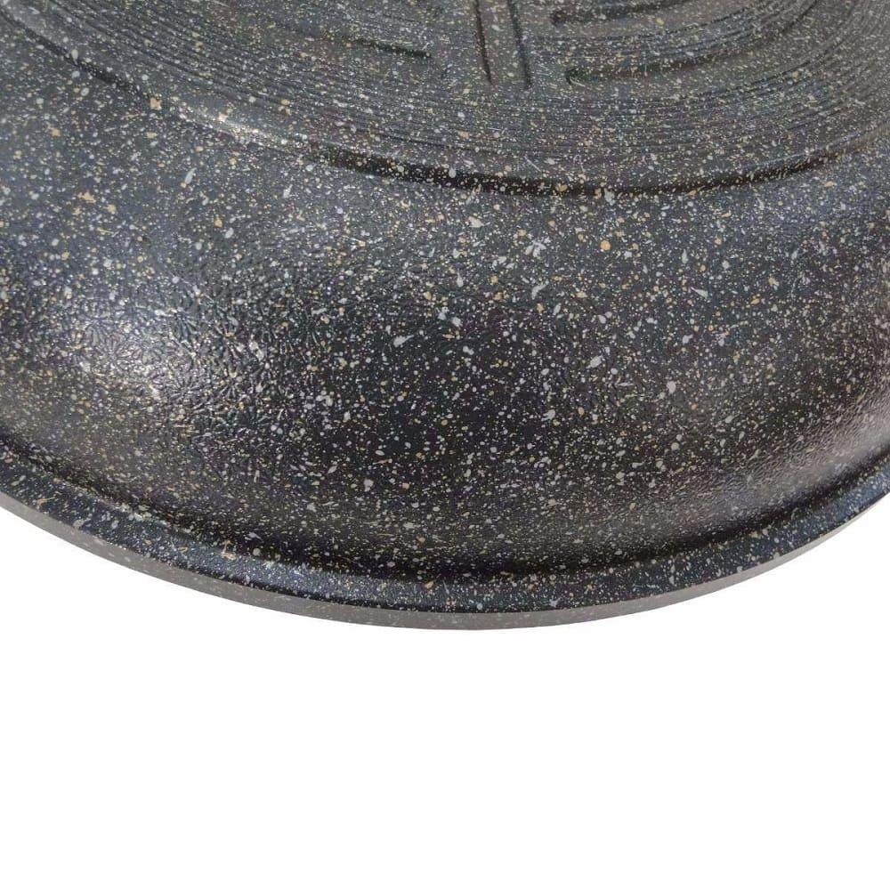 Frigideira Grande Antiaderente com Revestimento de Mármore 30 cm