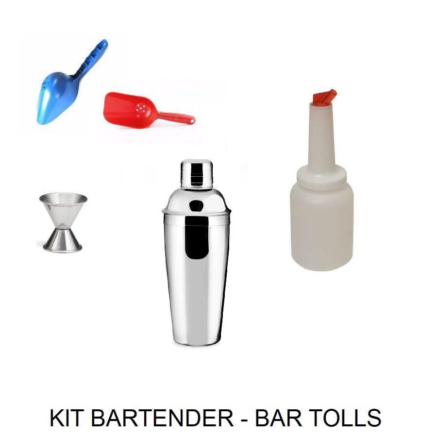 Kit Bartender - Utensílios de bar Profissional