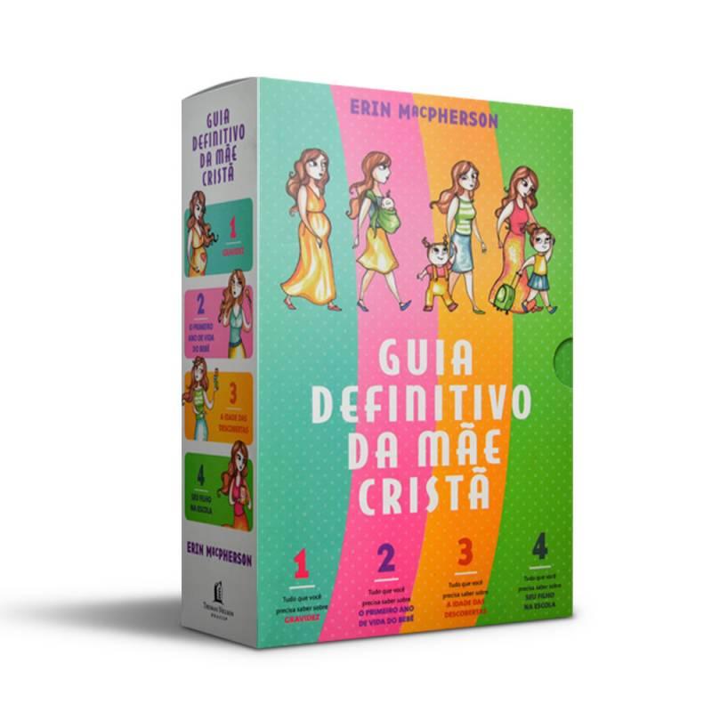 Livro - Box Guia definitivo da mãe cristã - Volume 1 a 4 - Erin MacPherson