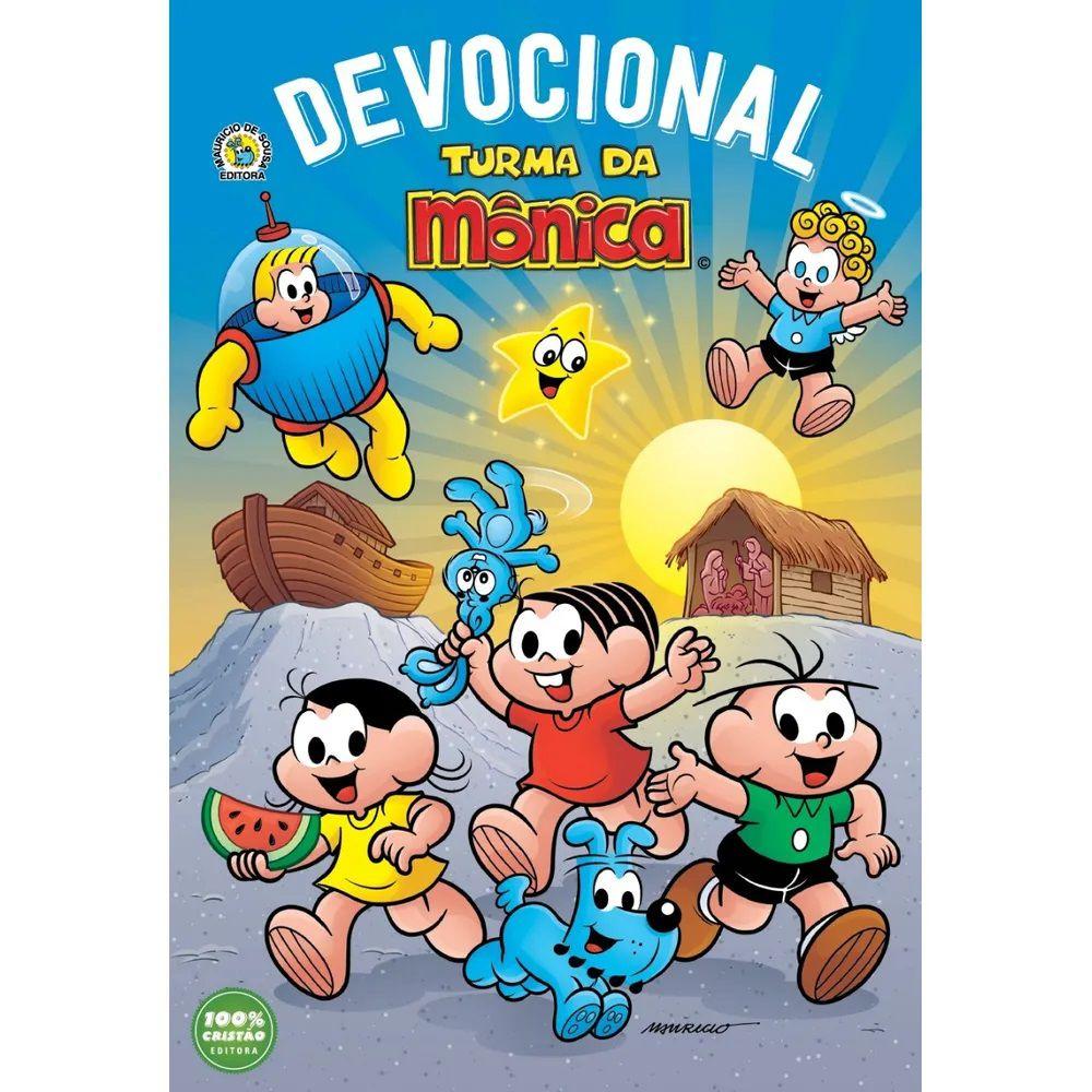 Livro - Devocional Turma da Mônica - Editora 100% Cristão