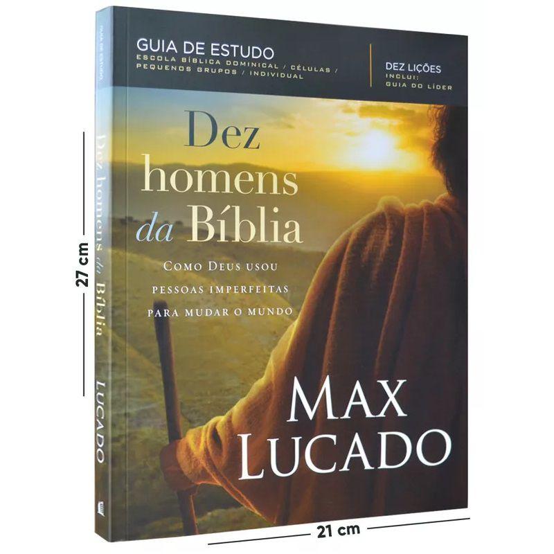 Livro - Dez Homens Da Bíblia - Max Lucado
