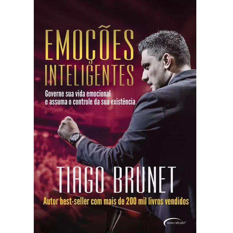 Livro - Emoções Inteligentes - Tiago Brunet - Editora Ágape