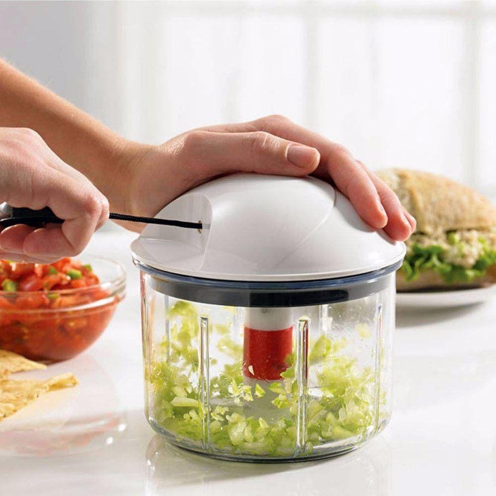 Multiprocessador - Processador de Alimentos Manual Fatiador de Legumes - Prana
