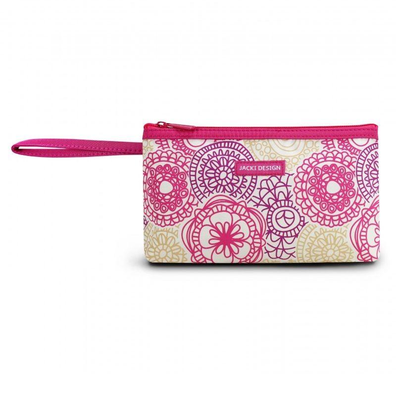 Necessaire Pink Jacki Design  com Alça - My Lolla