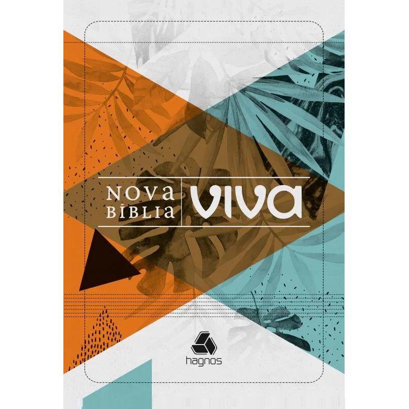 Nova Bíblia Viva - Capa Folhagem - Letra Grande
