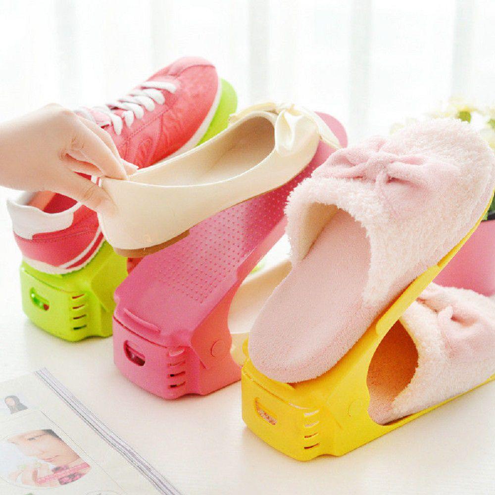 Organizador de Sapatos Plástico Cor Bege