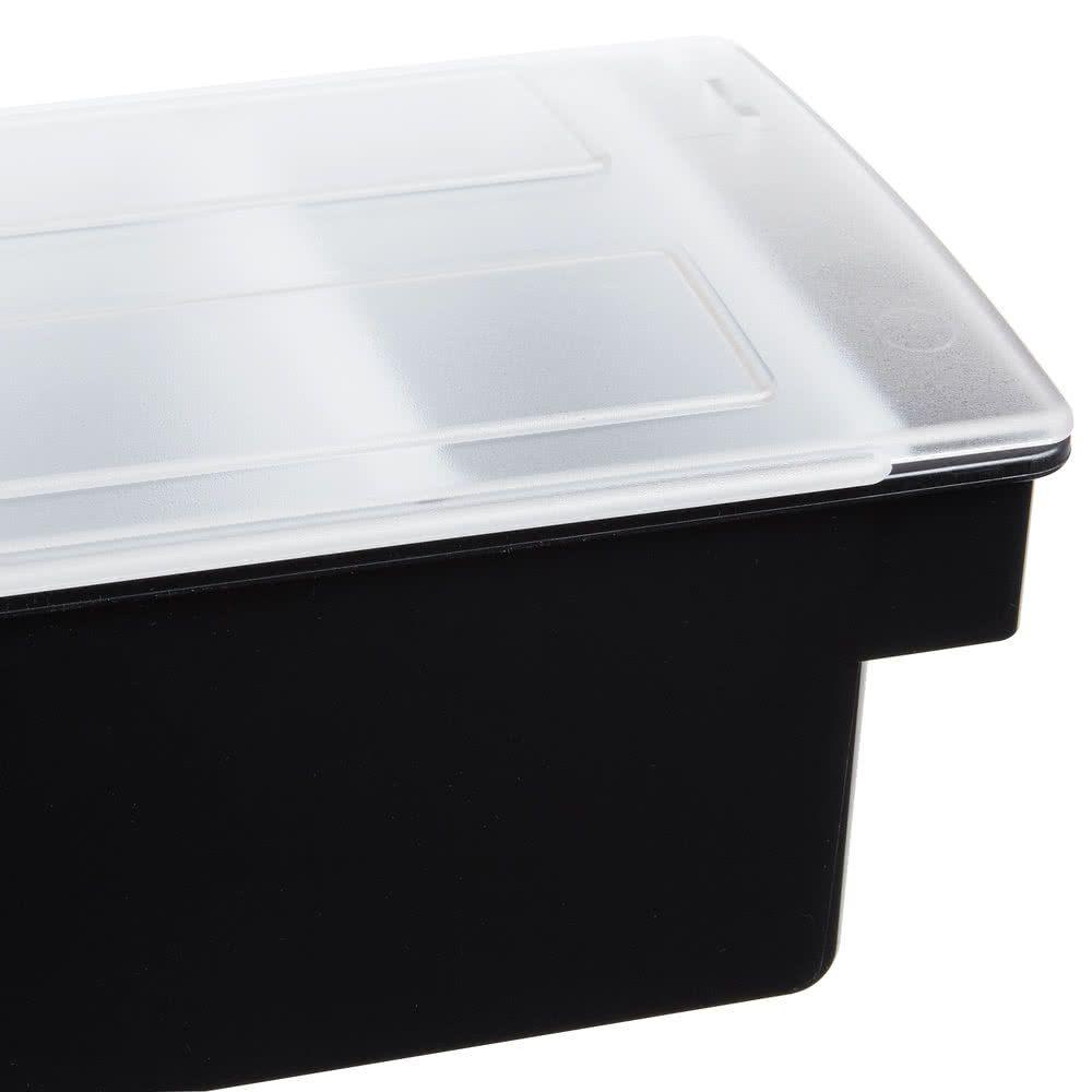 Porta Condimentos Bar Servir e Armazenar Gelo e Frutas 6 Divisões