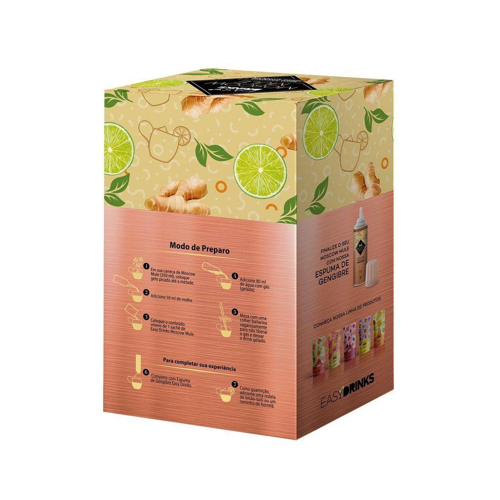 Preparado Líquido Mix Gengibre e Limão  para Moscow Mule Easy Drinks