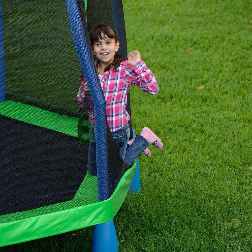 Pula Pula  Infantil com Rede de Proteção - My First Trampoline