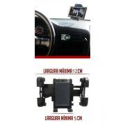 Suporte Veicular Gps Universal Celular Smartphone Taxi Caminhão Ônibus