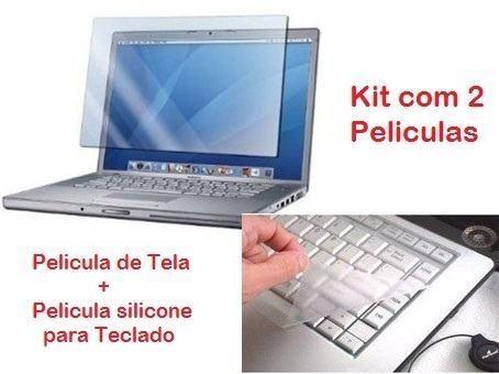 Kit Película Tela 12 13 14 E Teclado Notebook Frete Barato